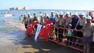 Urfalı Engelli Bireyler Kızkalesinde eğlendi