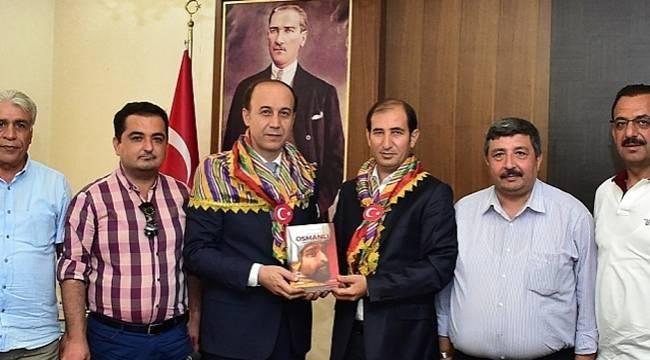 Urfalı Türkmen Temsilcilerinden Vali Erin'e ziyaret