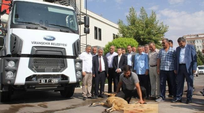 Viranşehir Belediyesi araç filosunu güçlendiriyor