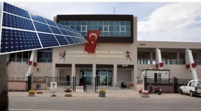 Viranşehir Belediyesine Güneş Enerjisi Hibesi