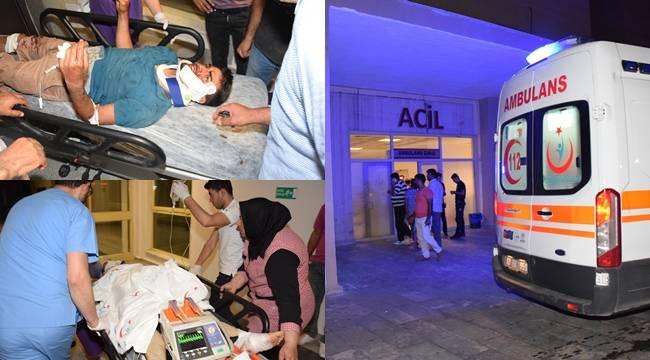 Viranşehir'de feci kaza, 1 Ölü 4 Yaralı