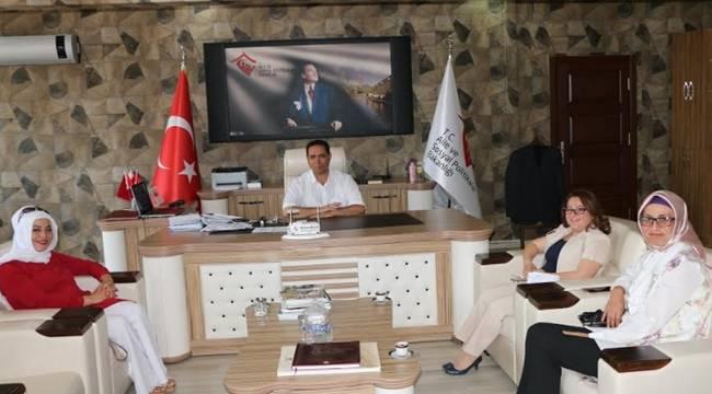 Viranşehir'de Kadın Konuk evi talebinde bulundular