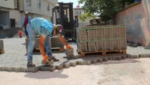Yenice Mahallesinde yol yapım çalışmaları - Video Haber