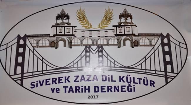 Zaza Dil, Kültür ve Tarih Derneği kuruldu