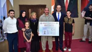 On milyonuncu kimlik kartı Urfa'da verildi-Videolu Haber