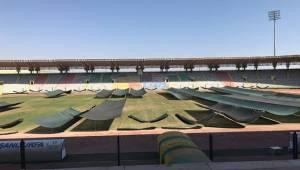 11 Nisan Stadyumunun çimleri ile ilgili açıklama
