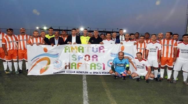 35 Yaş Üstü Futbol Turnuvası Başladı-Videolu Haber
