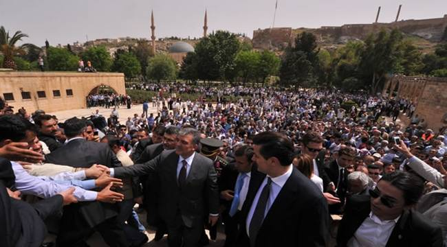Abdullah Gül Şanlıurfa'ya Geliyor
