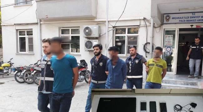 Akçakale'de Telefon Dolandırıcıları Tutuklandı