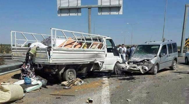 Aligör'de kaza, 3 yaralı
