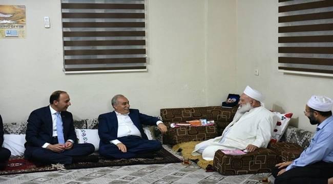 Bakan Fakıbaba, Seyda İzzettin Aksan'ı ziyaret etti