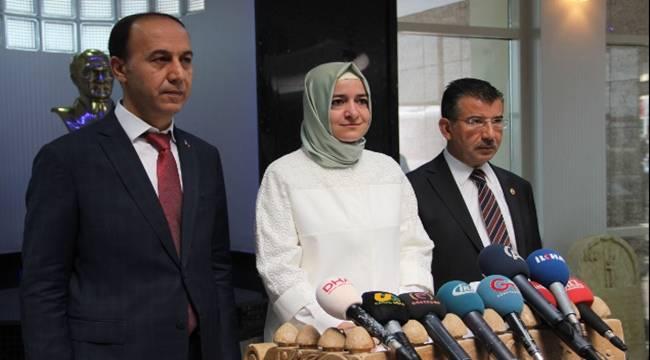 Bakan Fatma Betül Sayan Kaya,Urfa'da çocuk sitesi kurulacak