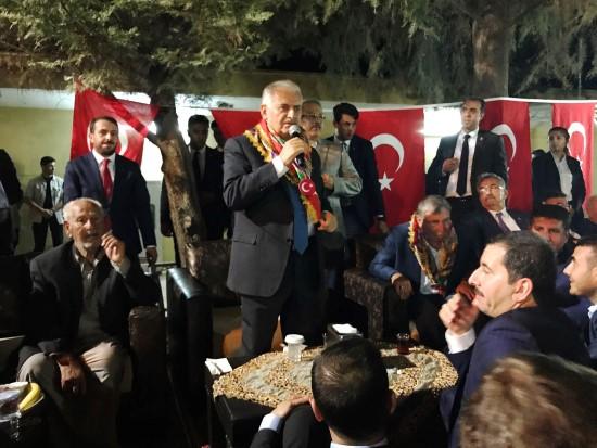 Başbakan Yıldırım ata toprağını unutmadı