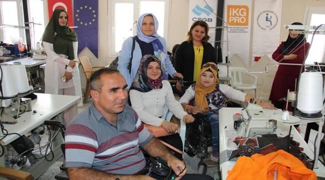 Engellilerden Meslek Edin Hayata Katıl Projesi-Videolu Haber