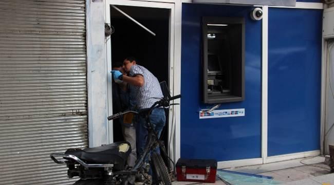 Eyyübiye'de Motosikletle ATM 'ye girdi