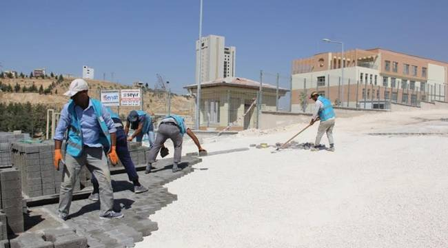 Eyyübiye'de Okul Yollarını Kışa Hazırlıyor-Videolu Haber