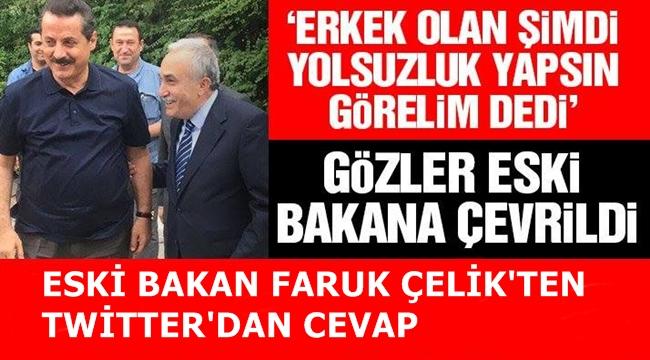 Fakıbaba ile Çelik arasında twit gerginliği