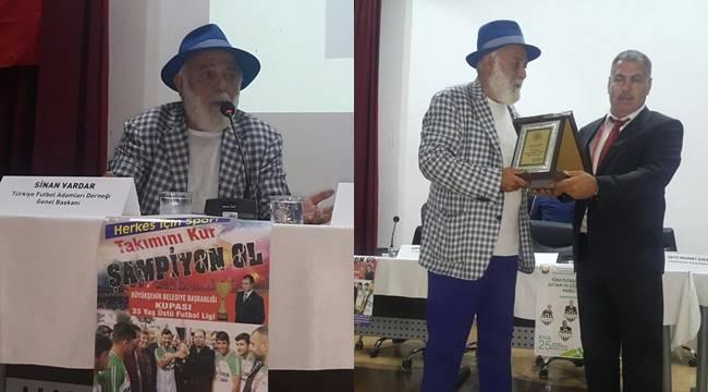 Futbolun Profesörü ve Don Kişot'u Şanlıurfa'da buluştu