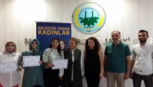 Geleceği Yazan Kadınlar Projesinde İlk Üç'e Girenler Belirlendi
