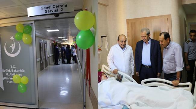 Genel Cerrahi 2 Servisi yenilendi-Videolu Haber