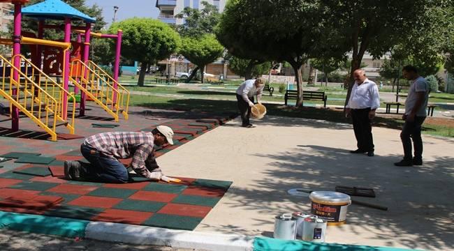 Haliliye'de 8 Park Onarılıyor-Videolu Haber