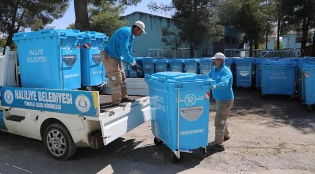 Haliliye'de Çöp Konteynerlerinin Sayısını Arttırıldı-Videolu Haber