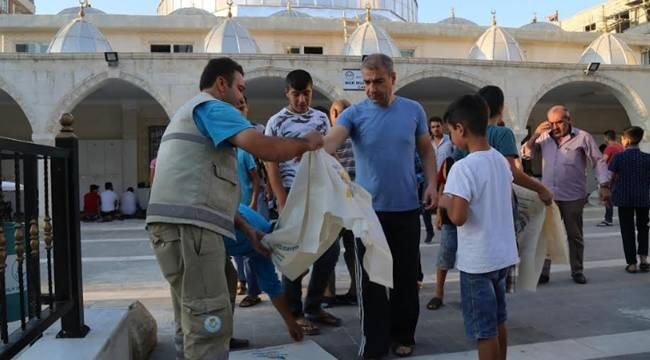Haliliyeli'de 65 Bin Atık Poşet Dağıtıldı-Videolu Haber