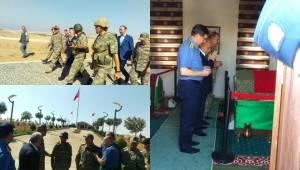 Hulusi Akar Süleyman Şah Türbesinde
