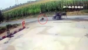 Kadının Düştüğünü 2 Km Sonra Fark Etti