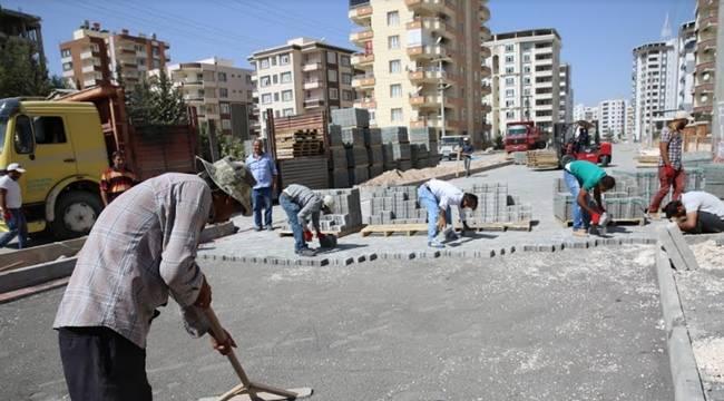 Karaköprü'de 250 bin metrekare kilitli parke döşenecek-Vidoelu Haber