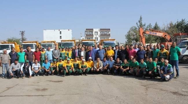 Kayyum Belediye Başkanı Güne İşçiler ile Başladı