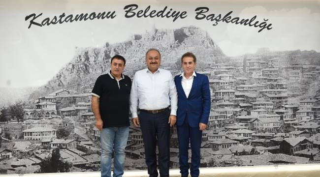 Mahmut Tuncer, Kastamonu'yu ziyaret etti