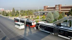 Malatya'da Trambüs sefer hattı uzatıldı