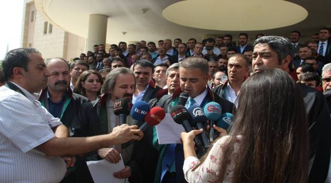Şanlıurfa Baro Başkanına darp iddiası
