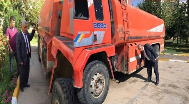 Şanlıurfa Büyükşehir'den Viranşehir Belediyesine Destek