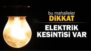 Şanlıurfa'da 38 Mahallede Elektrik Kesintisi Yaşanacak