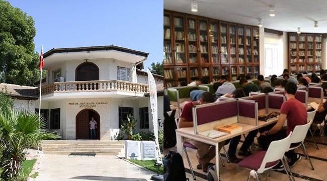 Şanlıurfa'da kütüphanelere yoğun ilgi