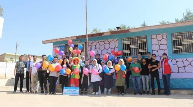 Şanlıurfa Gençlik Merkezi Çocuklar Gülsün Diye Okullarda