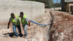 Şanlıurfa kırsal mahalleleri içme suyuna kavuşuyor-Videolu Haber