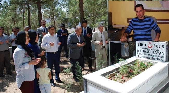 Şehit Polis Mahmut Kayan Dualar ile Anıldı