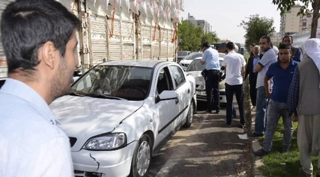 Siverek'te Zincirleme Kaza, 3 Yaralı