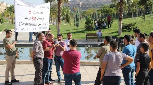 Suriyeliler PKK-PYD'yi kınamak için miting düzenleyecek