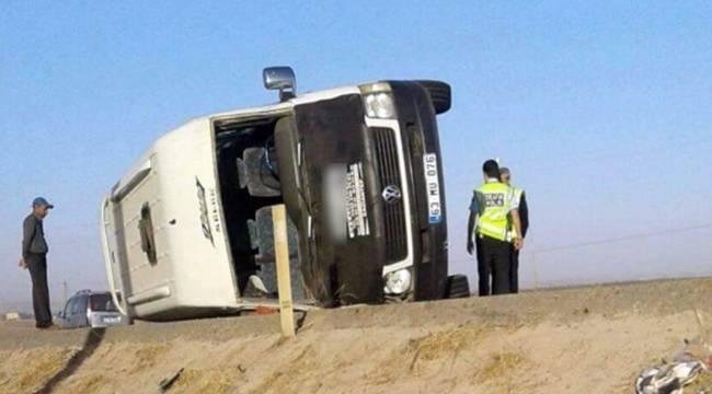 Suruç'ta Kaza, 5 Yaralı