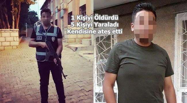 Urfa'da görev yapan Polis Cinnet geçirdi