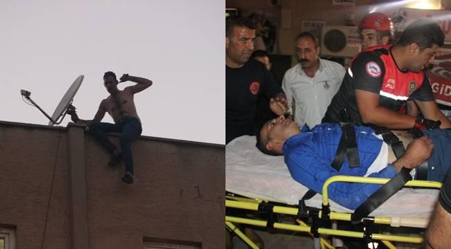 Urfa'da İntihar girişiminde bulunan genci arkadaşı kurtardı