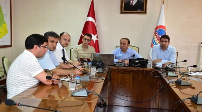 Urfa'da sağlık sorunları masaya yatırıldı