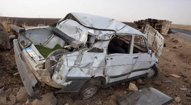 Urfa'da trafik kazası: 4 yaralı