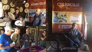 Urfa'nın Yöresel El Sanatları Ankara'da Tanıtılıyor
