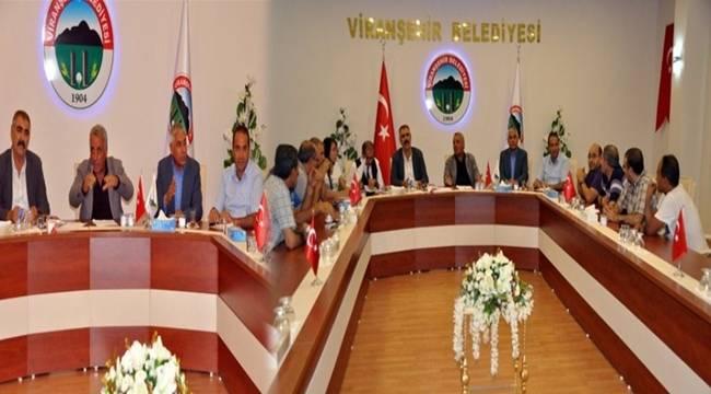 Viranşehir'de rayiç fiyatlar belirlendi