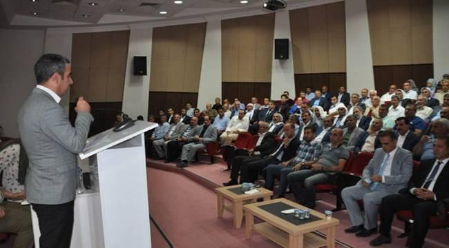 Viranşehir Devlet Hastanesinde Bilgilendirme Toplantısı